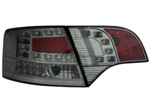 LED zadní světla Audi A4 Avant B7 04-08 LED blinkr kouřové