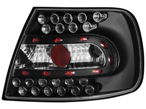 LED zadní světla Audi A4 B5 sedan 95-01 černé