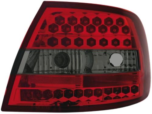 LED zadní světla Audi A4 B5 sedan 95-10.00 červené/kouřové
