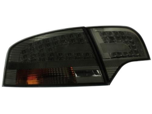 LED zadní světla Audi A4 B7 sedan 04-08 kouřové