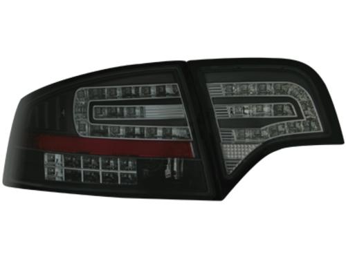 LED zadní světla Audi A4 B7 sedan 04-08 LED blinkr černé/kouřové