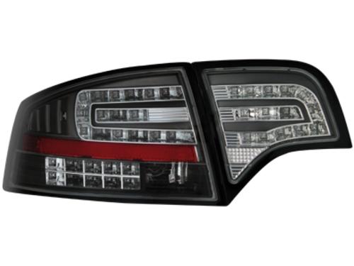 LED zadní světla Audi A4 B7 sedan 04-08 LED blinkr černé