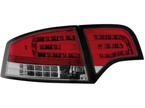 LED zadní světla Audi A4 B7 sedan 04-08 LED blinkr červené/crystal