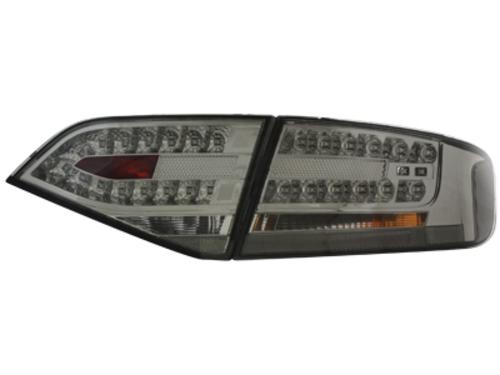 LED zadní světla Audi A4 B8 8K sedan 07+ kouřové