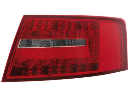 LED zadní světla Audi A6 4F sedan 04-08 červené/kouřové