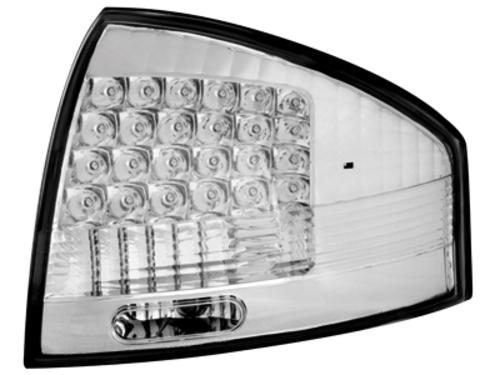 LED zadní světla Audi A6 97-04 crystal
