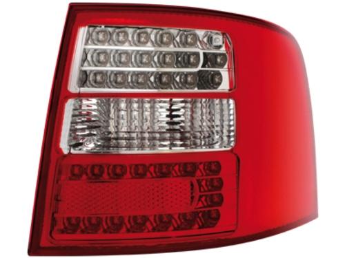 LED zadní světla Audi A6 Avant 4B 12.97-01.05 červené/crystal