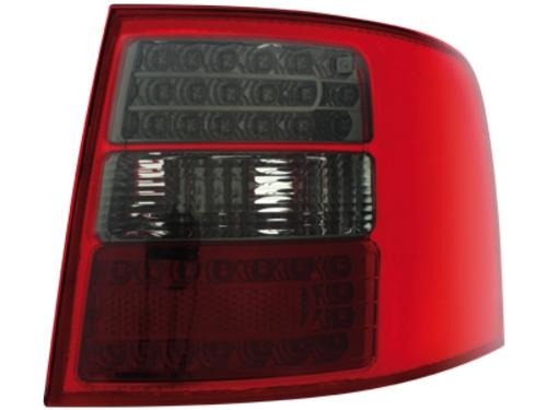 LED zadní světla Audi A6 Avant 4B 12.97-01.05 červené/kouřové