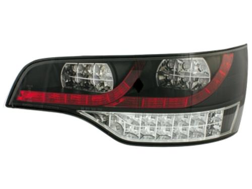 LED zadní světla Audi Q7 05-09 černé