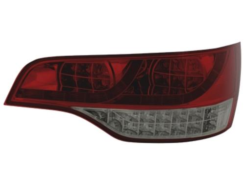 LED zadní světla Audi Q7 05-09 červené/kouřové