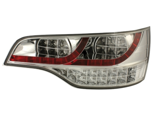 LED zadní světla Audi Q7 05-09 crystal