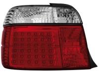 LED zadní světla BMW E36 Compact 92-98 červené/crystal