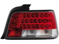 LED zadní světla BMW E36 sedan 92-98 červené/crystal