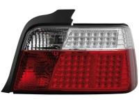 LED zadní světla BMW E36 sedan LED blinkr červené/crystal