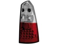 LED zadní světla Ford Focus Turnier 99-05 červené/crystal