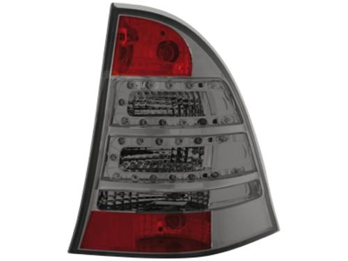 LED zadní světla Mercedes C W203 00-07 kouřové