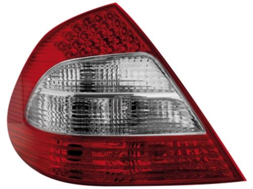 LED zadní světla Mercedes E W211 sedan červené/crystal