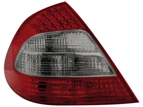 LED zadní světla Mercedes E W211 sedan červené/kouřové