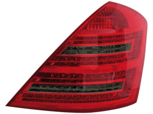 LED zadní světla Mercedes S W221 sedan červené/kouřové