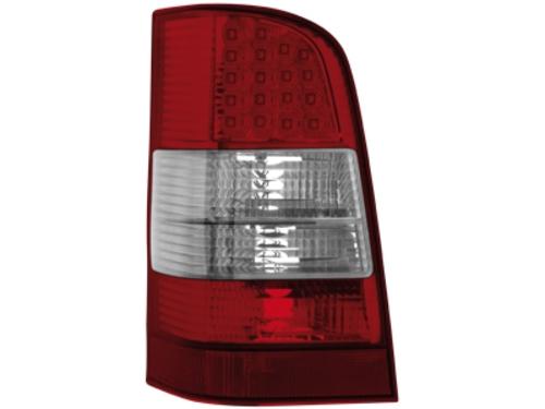 LED zadní světla Mercedes W638 Vito 96-03 červené/crystal