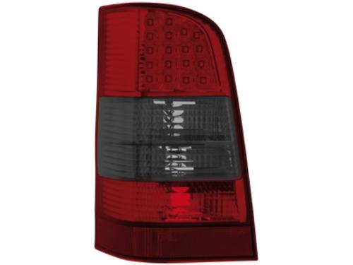 LED zadní světla Mercedes W638 Vito 96-03 červené/kouřové