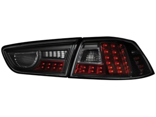 LED zadní světla Mitsubishi Lancer ab 08 černé