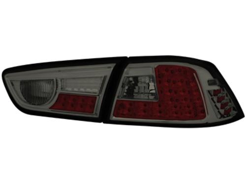 LED zadní světla Mitsubishi Lancer ab 08 kouřové