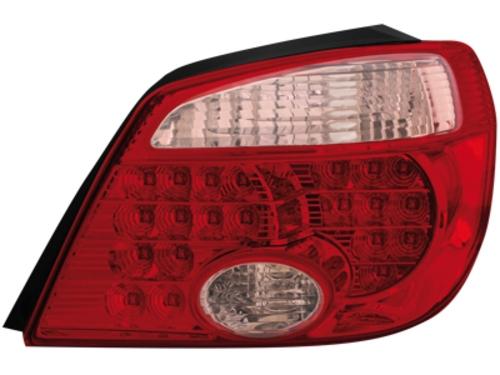 LED zadní světla Mitsubishi Outlander 05-06 červené/crystal