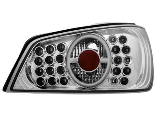 LED zadní světla Peugeot 306 92-96 crystal
