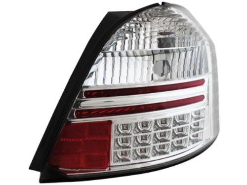 LED zadní světla Toyota Yaris 05+ crystal