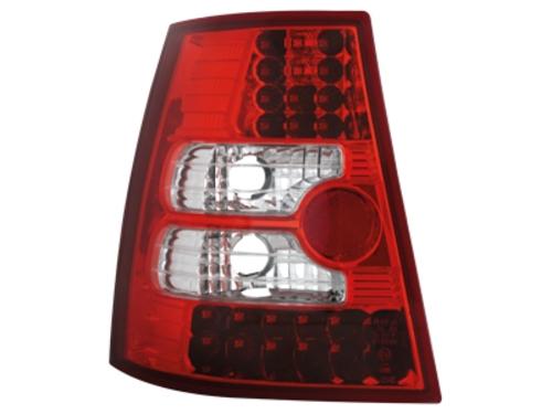 LED zadní světla VW Bora Variant+Golf IV Variant červené/crystal