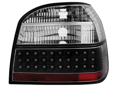 LED zadní světla VW Golf III 91-98 černé