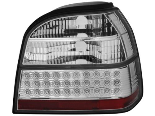 LED zadní světla VW Golf III 91-98 crystal