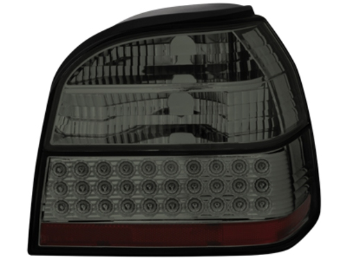 LED zadní světla VW Golf III 91-98 kouřové