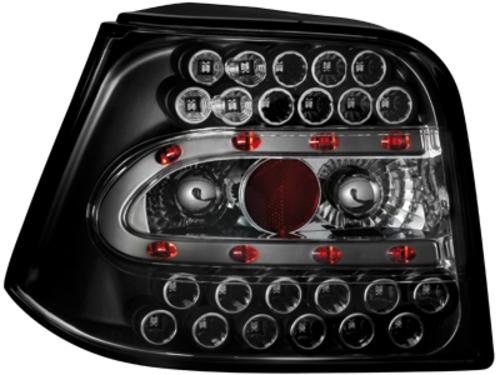 LED zadní světla VW Golf IV 97-04 černé
