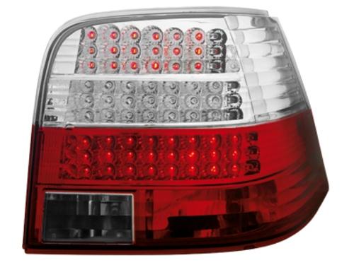 LED zadní světla VW Golf IV 97-04 červené/crystal LED blinkr
