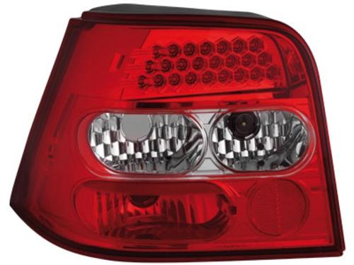 LED zadní světla VW Golf IV 97-04 červené/crystal