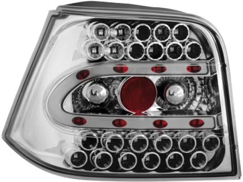 LED zadní světla VW Golf IV 97-04 crystal