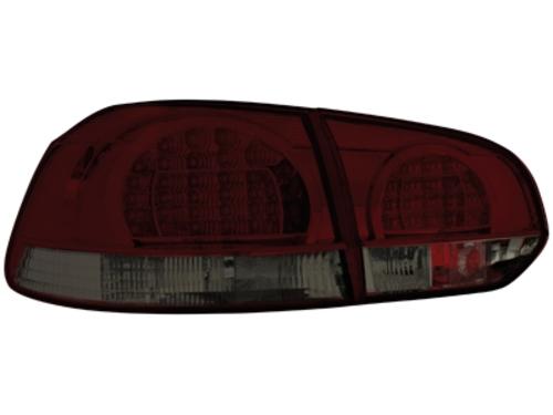 LED zadní světla VW Golf VI červené/kouřové