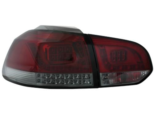 LED zadní světla VW Golf VI LED blinkr červené/kouřové