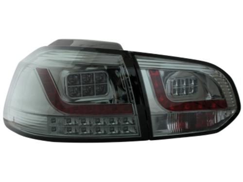 LED zadní světla VW Golf VI žárovkový blinkr kouřové