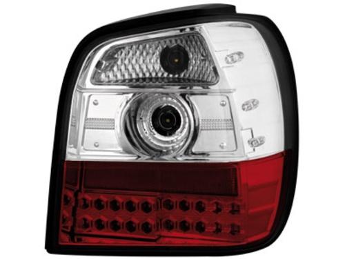 LED zadní světla VW Polo 6N 95-97 červené/crystal