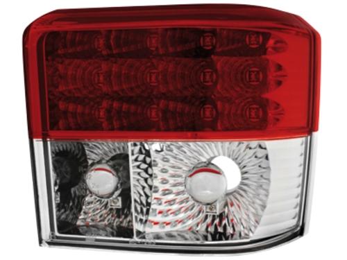 LED zadní světla VW T4 90-03 červené/crystal
