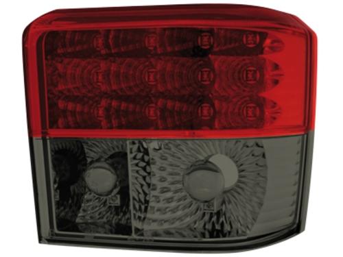LED zadní světla VW T4 90-03 červené/kouřové