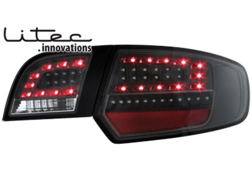 LITEC LED zadní světla Audi A3 Sportback 03-08 černé