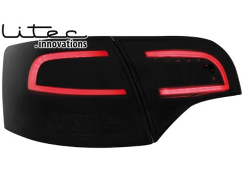 LITEC LED zadní světla Audi A4 Avant B7 04-08 černé/kouřové