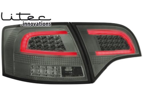 LITEC LED zadní světla Audi A4 Avant B7 04-08 kouřové