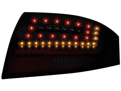 LITEC LED zadní světla Audi TT (8N3/8N9) 98-05 černé/kouřové