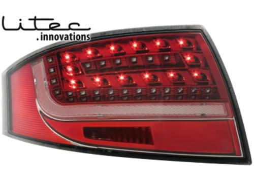 LITEC LED zadní světla Audi TT (8N3/8N9) 98-05 červené/crystal