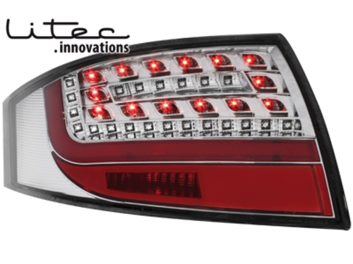LITEC LED zadní světla Audi TT (8N3/8N9) 98-05 crystal